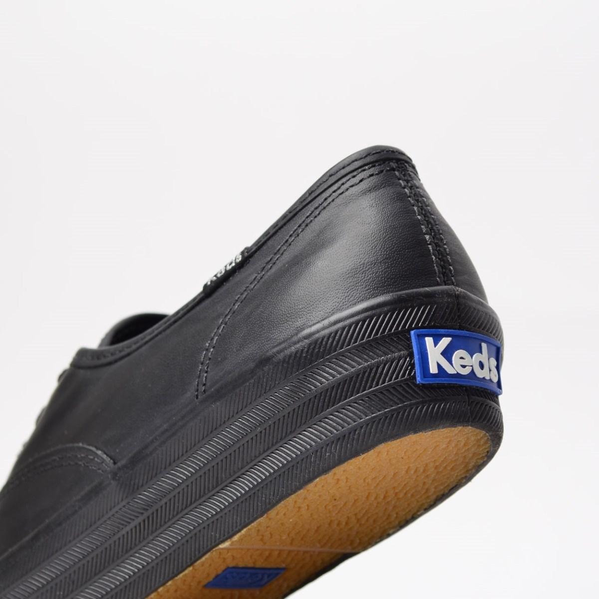 Tênis Keds Triple Leather Preto Preto KD1033001