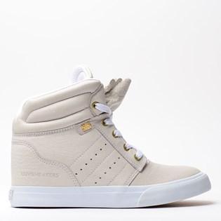 Tênis Mary Jane Street Heel White MJ-4209