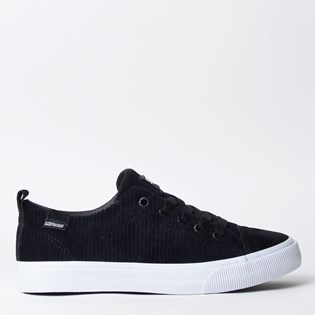 Tênis Mary Jane Velvet Low Black MJ-4181