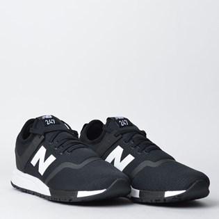 Tênis New Balance 247 Preto Branco MRL247D5