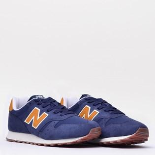 Tênis New Balance 373 Azul Amarelo ML373BYS