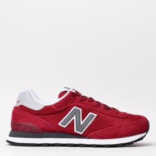 Tênis New Balance 515 Vermelho Cinza WL515CPD ... d7d7ba9016dd8