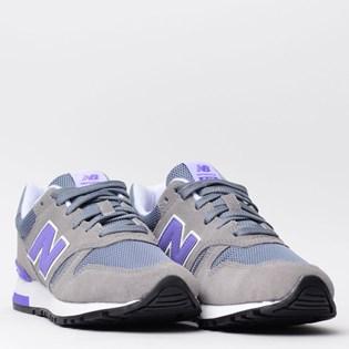 Tênis New Balance 565 Cinza Roxo WL565GLW