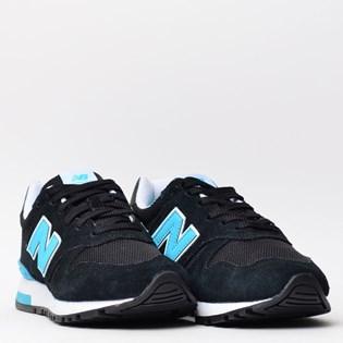 Tênis New Balance 565 Preto Azul WL565KTW