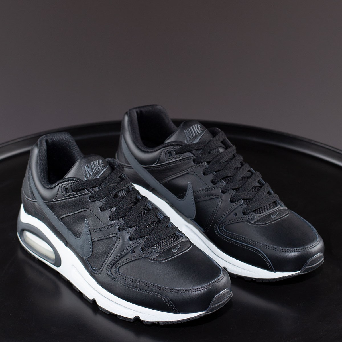 Tênis Nike Air Max Command Leather Black 749760-001