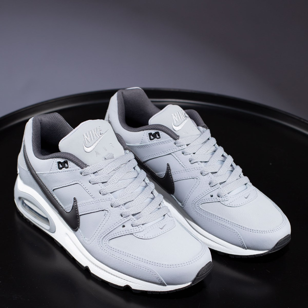 Tênis Nike Air Max Command Leather Grey 749760-012