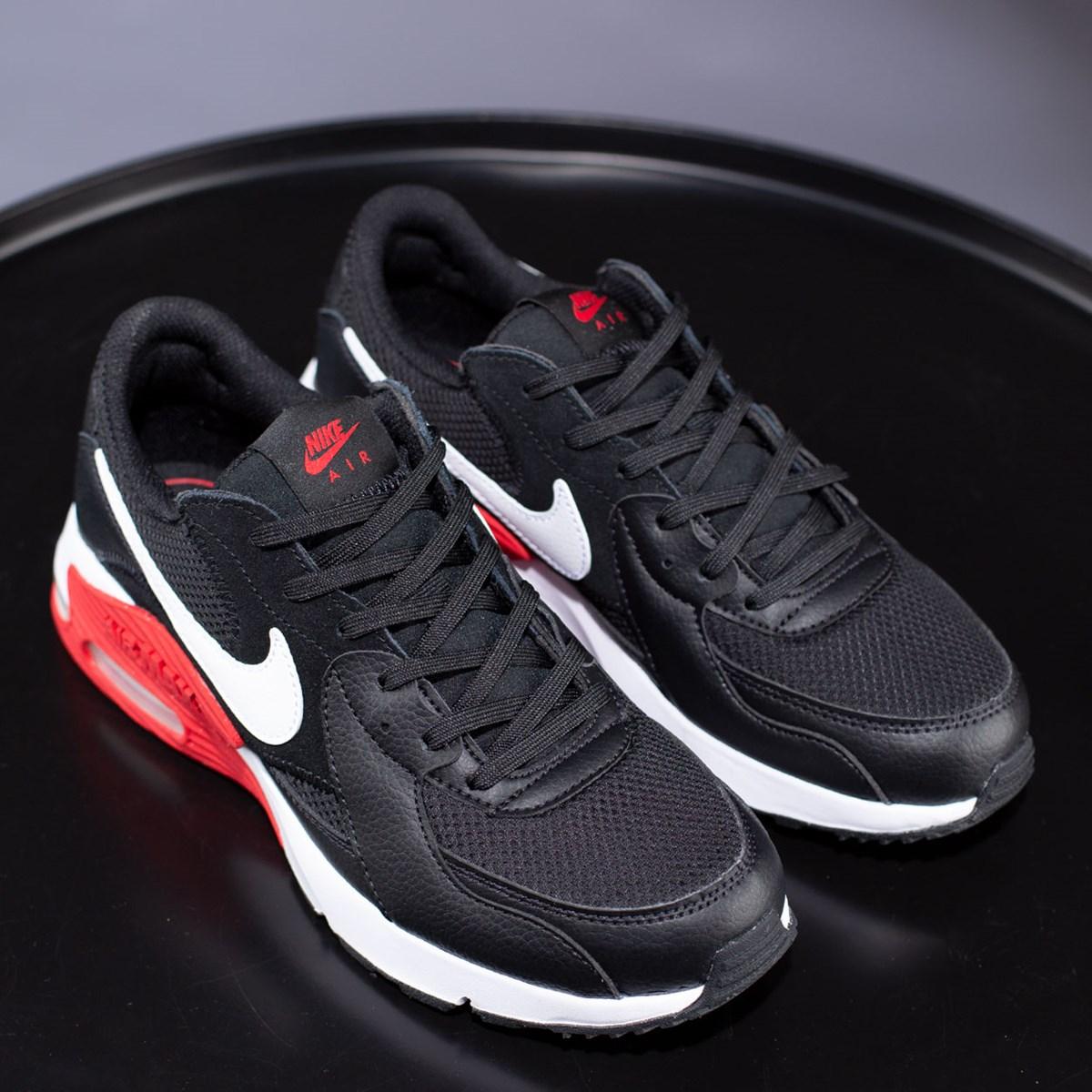 Tênis Nike Air Max Excee Black White University Red CD4165-005