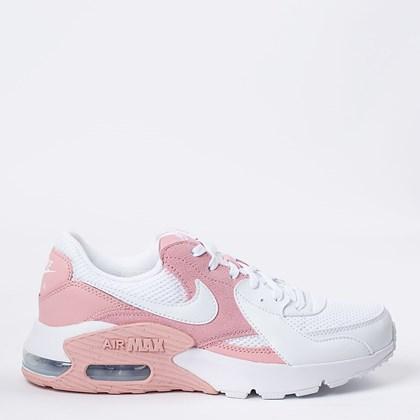 Tênis Nike Air Max Excee Branco Rosa CD5432-602