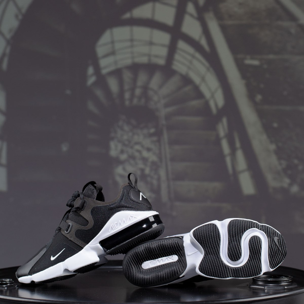 Tênis Nike Air Max Infinity Black White BQ3999-003