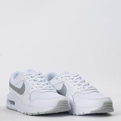 Tênis Nike Air Max SC W White Metallic Silver CW4554-100