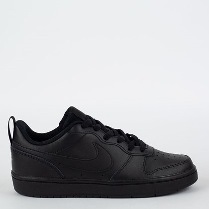 Tênis Nike Court Borough Low 2 Black Black BQ5448-001