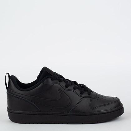 Tênis Nike Court Borough Low 2 Black Black BQ5448-001