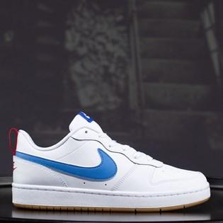 Tênis Nike Court Borough Low 2 White Blue BQ5448-109