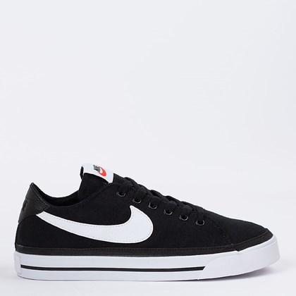 Tênis Nike Court Legacy Canvas Black White CZ0294-001