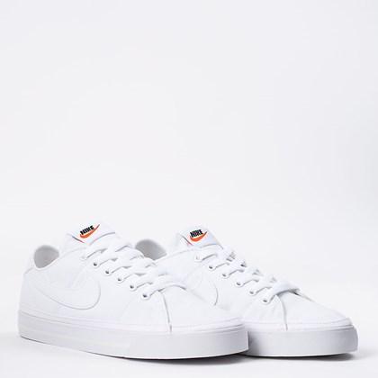 Tênis Nike Court Legacy Canvas White CZ0294-100