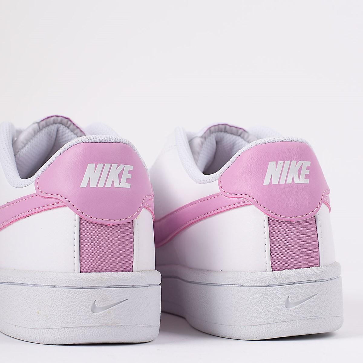 Tênis Nike Court Royale 2 White Pink CU9038-101