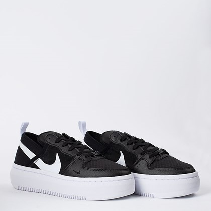 Tênis Nike Court Vision Alta Black White CW6536-001
