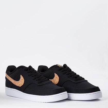 Tênis Nike Court Vision Lo Cnvs MTZ Black Multi DJ1970-001