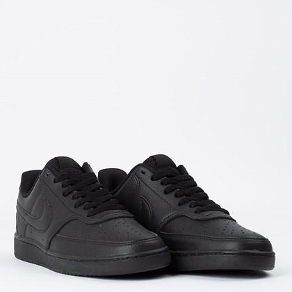 Tênis Nike Court Vision Low Black Black CD5463-002