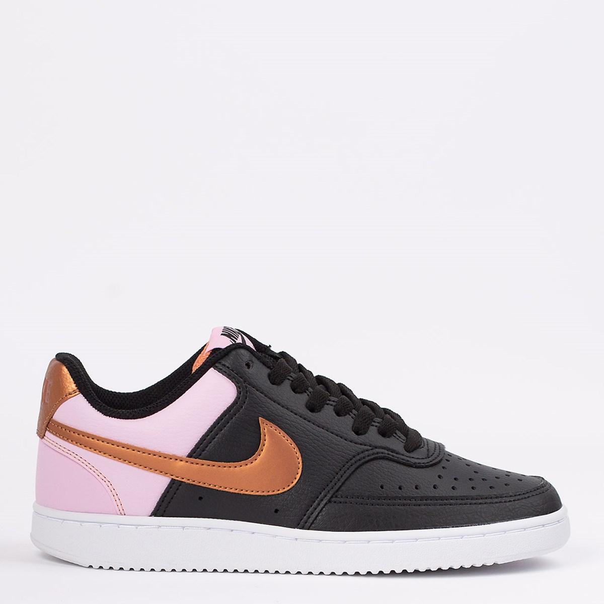 Tênis Nike Court Vision Low Black Bronze CD5434-004