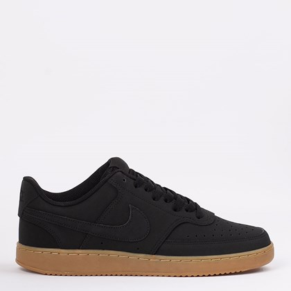 Tênis Nike Court Vision Low Black Gum CD5463-008