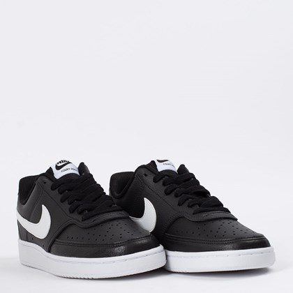 Tênis Nike Court Vision Low Black White CD5434-001