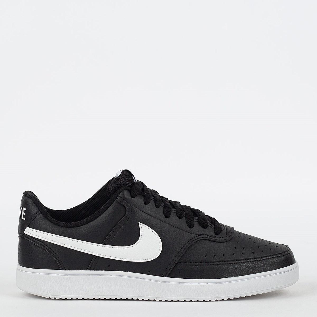 Tênis Nike Court Vision Low Black White CD5463-001