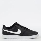 Tênis Nike Court Vision Low Black White CD5463-001