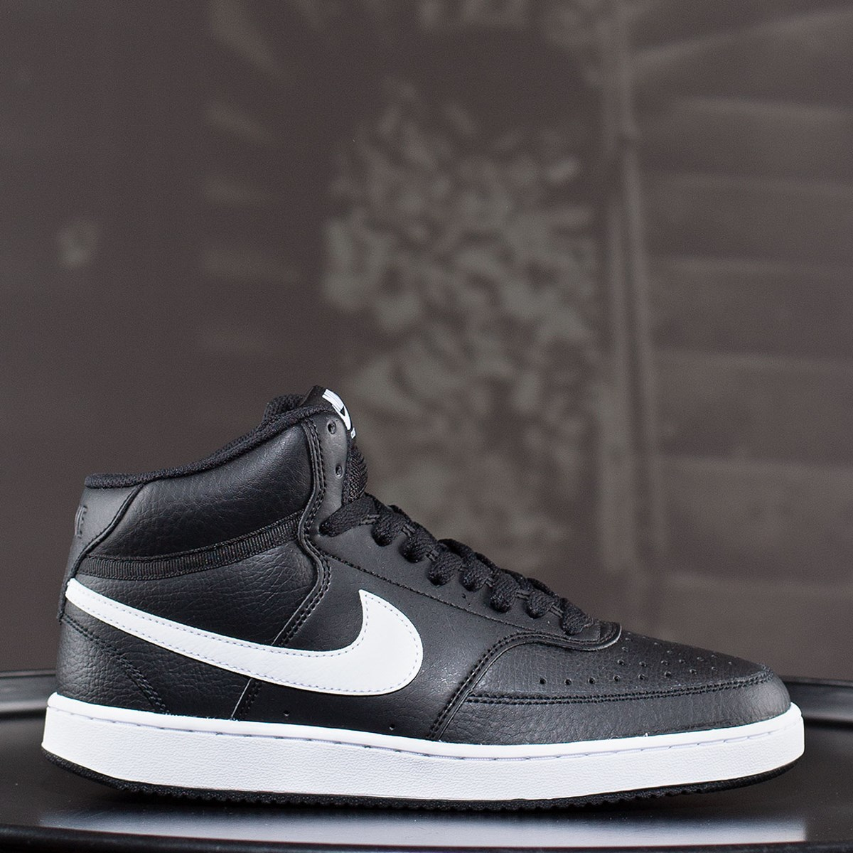 Tênis Nike Court Vision Mid Black White CD5466-001