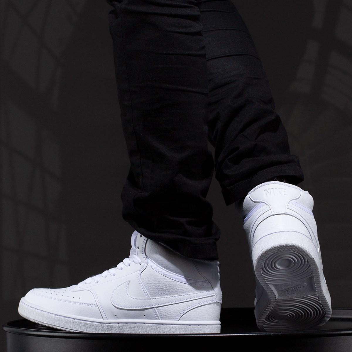 Tênis Nike Court Vision Mid White White CD5466-100