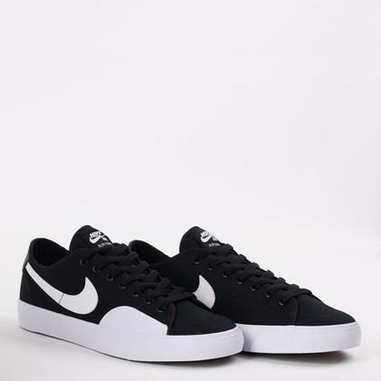 Tênis Nike SB Blazer Court Black Gum Light CV1658-002