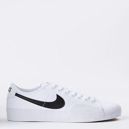 Tênis Nike SB Blazer Court White Black CV1658-101