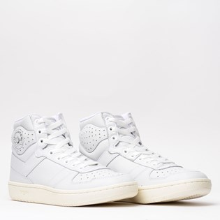Tênis Pony City Wings Hi Leather Branco Branco PO301256