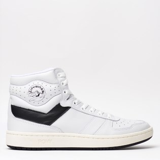 Tênis Pony City Wings Hi Leather Branco PO301002