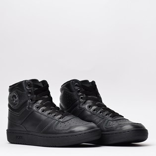 Tênis Pony City Wings Hi Leather Preto Preto PO301231