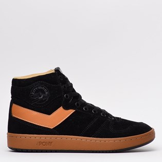 Tênis Pony City Wings Hi Suede Preto PO503001