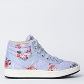 Tênis Pony City Wings Hi SW100 Flowers Cinza PO233016