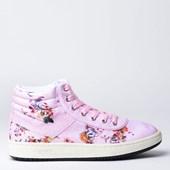 Tênis Pony City Wings Hi SW100 Flowers Rosa PO233007