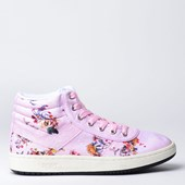 Tênis Pony City Wings Hi SW100 Flowers Rosa PO233007