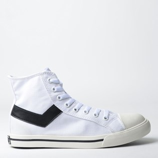 Tênis Pony Shooter Hi Canvas Branco PO101002