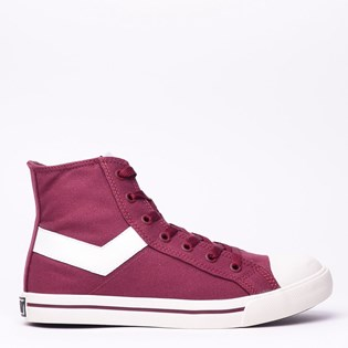 Tênis Pony Shooter Hi Canvas Marsala PO101900