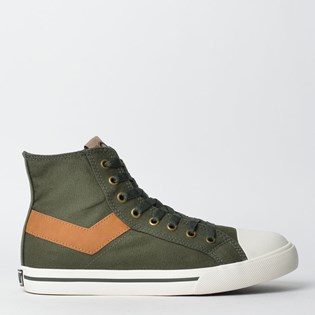 Tênis Pony Shooter Hi Canvas Verde Kombu PO101030