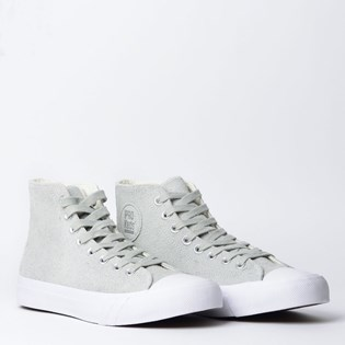 Tênis PRO-Keds Royal Hi Hair Suede Off White PK136566