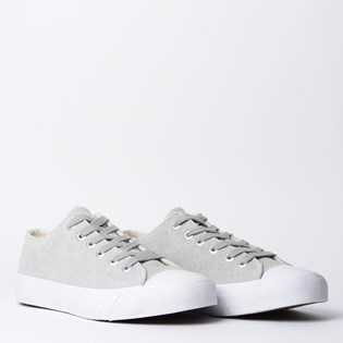 Tênis PRO-Keds Royal Lo Hair Suede Off White PK114566