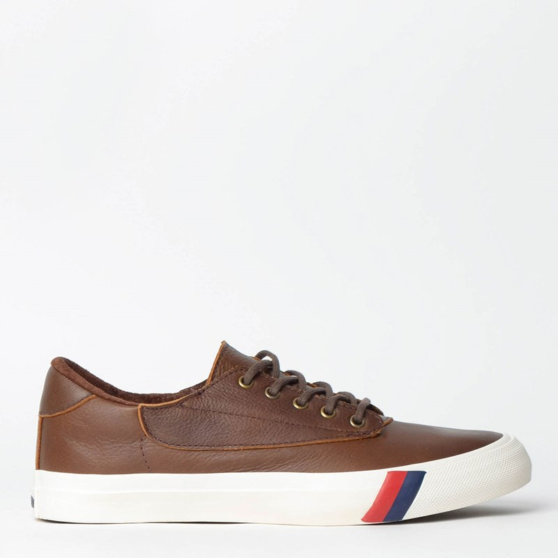 Tênis PRO-Keds Trophy Plus Leather Marrom PK157010