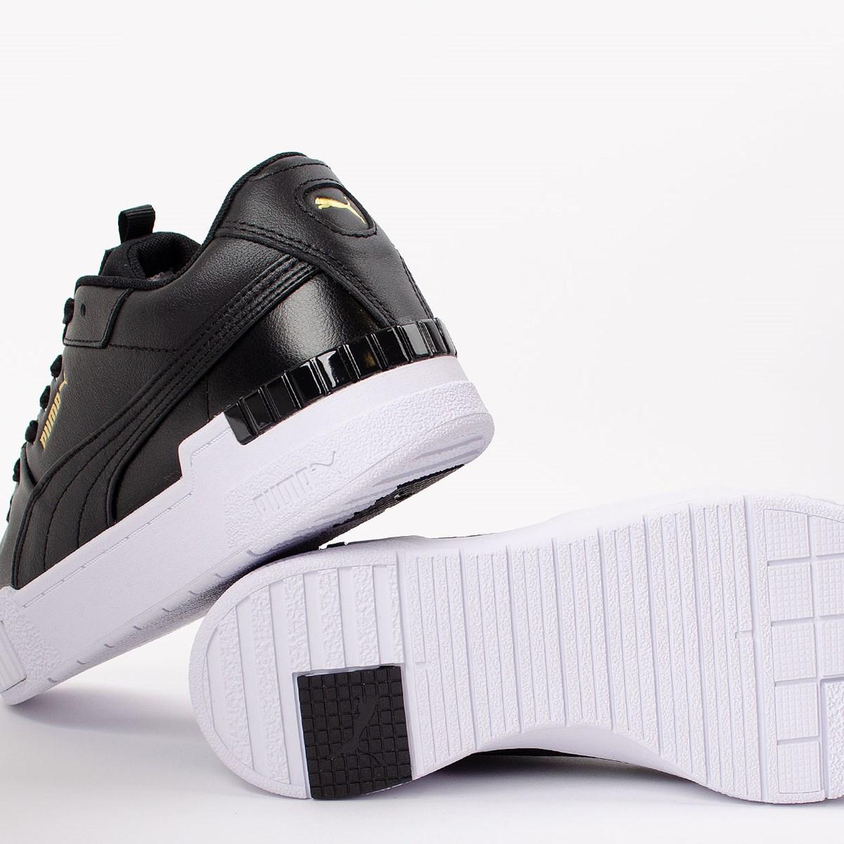 Tênis Puma Cali Sport Black White 373871-02