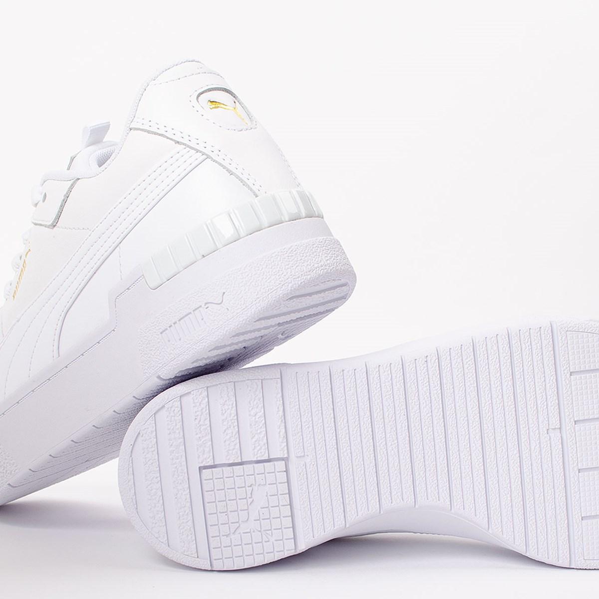 Tênis Puma Cali Sport White White 373871-01