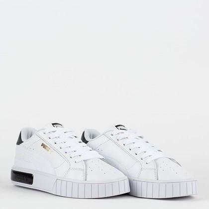 Tênis Puma Cali Star White Black 380176-02