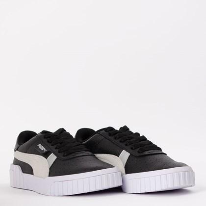 Tênis Puma Cali Varsity Black White 374109-02