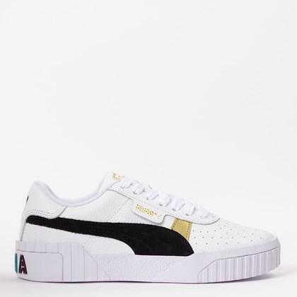 Tênis Puma Cali Varsity White Black 374109-01